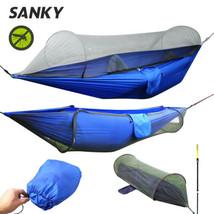 Multiuse tragbar Hängematte Camping Survivor mit Moskito Netz Zeug Sack - $49.90