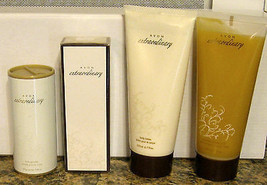 Avon Extraordinary Ultimate Gift LOT eau d Parfum SPRAY Powder Lotion Sh... - $59.35