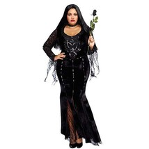 Dreamgirl Frightfully Beautiful Addams Adult Plus Size Halloween Costume... - $61.29