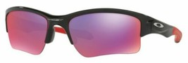 Oakley Quarter Jacket sunglasses Polishd Black Prizm Road OO9200-18 Yout... - $69.29