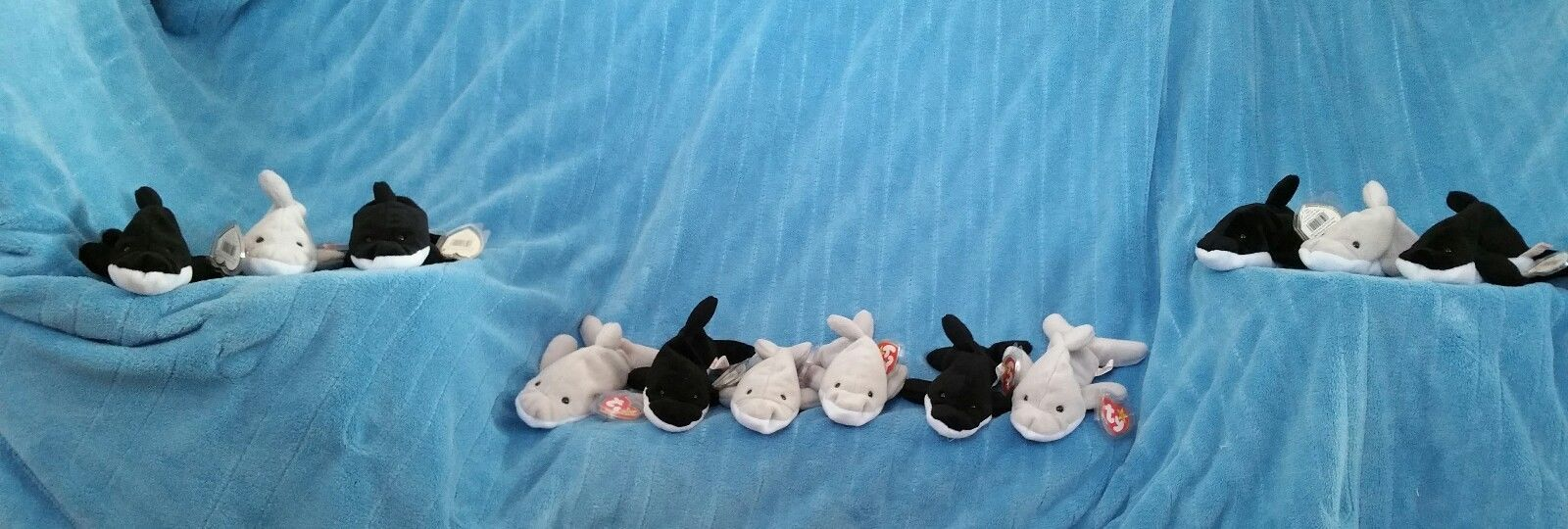 Ty beanie babies lot of 12 flash the dolphin and 50 similar items. S l1600 a87a952d059