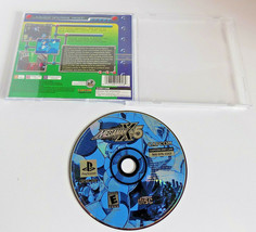 Mega Man X5 game disc w/case black label PS1 (Sony PlayStation 1, 2001) - $17.88