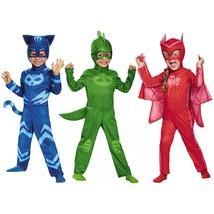 Disguise PJ Masks Catboy Gekko Owlette Classic Kids Toddler Halloween Co... - $22.69
