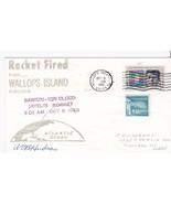 BARIUM-ION CLOUD JAVELIN ROCKET FIRED WALLOPS ISLAND VA 10/5/1970 UNKNOW... - £1.57 GBP