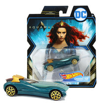 Hot Wheels DC Aquaman Mera First Appearance! Character Cars Mint on Card - $12.88