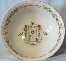Lenox Holiday Serving Bowl Fill Your Home with Joy - $19.69