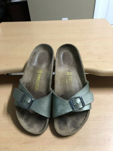 Birkenstock Women 6 Madrid Metallic Gray and 50 similar items