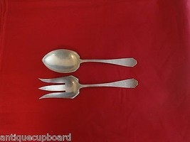 "Vergennes Kraft by Frank Smith Sterling Silver Salad Serving Set 2pc 8 1/2"" - $247.10"