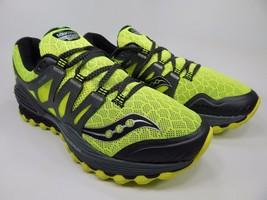 Saucony Xodus ISO Men's Trail Running Shoes Sz US 9 M (D) EU 42.5 Green S20325-4
