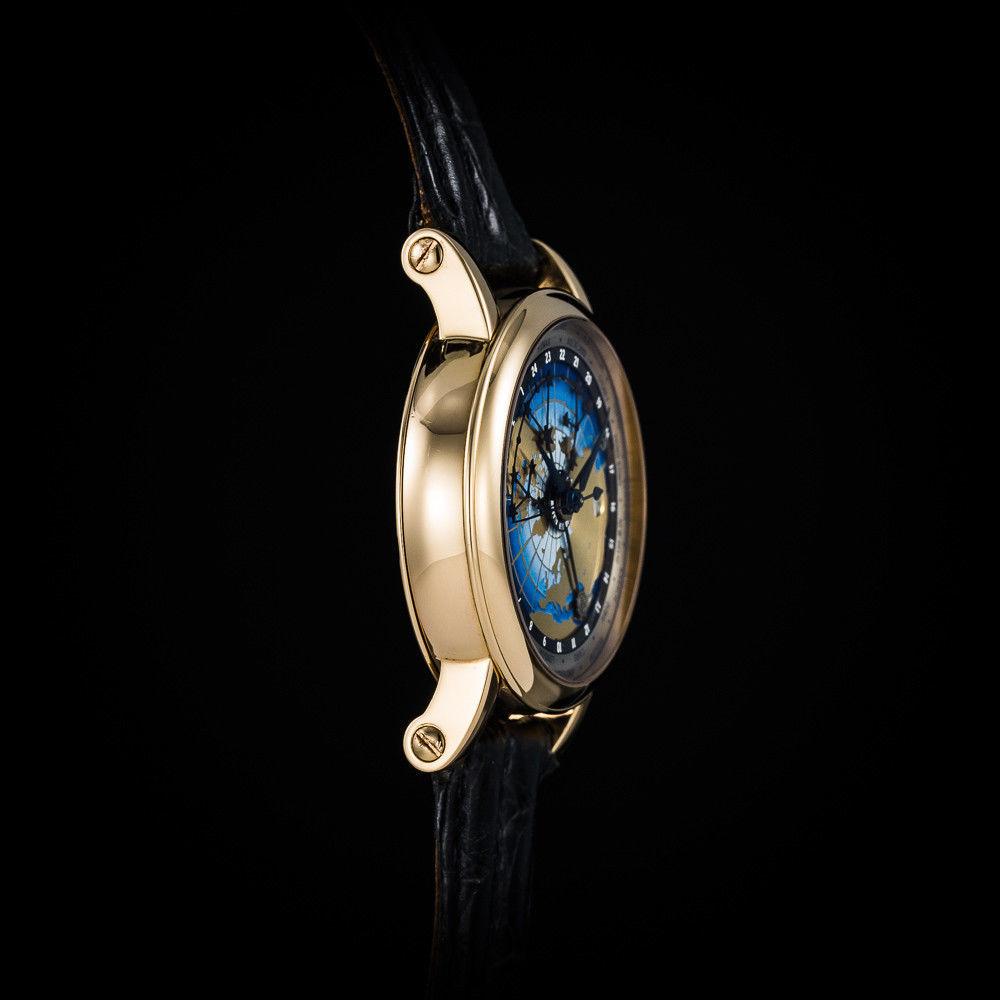 Christiaan Van Der Klaauw 18K RG Mondial CK-3 Watch. Benzinger. Unique Piece. Mi