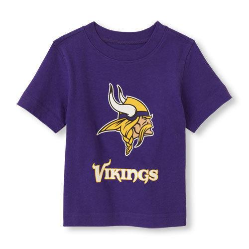 NFL Minnesota Vikings Boy or Girl T- Shirt  Top Infant  Size 9-12 M NWT - $17.99