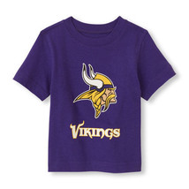 NFL Minnesota Vikings Boy or Girl T- Shirt  Top Infant  Size 9-12 M NWT - $17.99