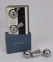 Reed & Barton Table Art Salt & Pepper Shakers Metal Works 2006 - $14.84