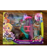 Polly Pocket Pollyville Super Slidin' Water Park Micro Play Set NIB - $43.56