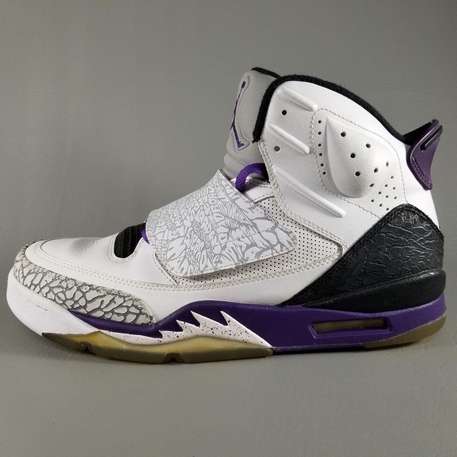 the best attitude 60e0b 3884b 57. 57. Previous. Nike Air Jordan Son of Mars Basketball Shoes Size 10 Mens  White Purple Black · Nike Air ...