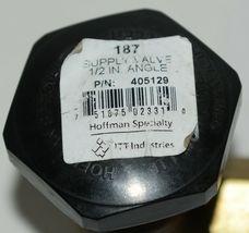 ITT Industries Hoffman Specialty 405129 1/2 Inch Angle Black Handle image 4
