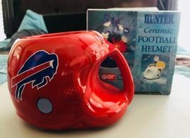 Vintage Buffalo Bills Helmet Shaped Mug 1993 Team NFL Hunter - $11.87