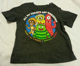 Old Navy Tee Shirt Size 12-18 Months Collectabilitees Gray - $15.98
