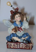 """Boyds The Folkstone Collection's Cerebella """"Smarty"""" Faerienoggin  - $12.55"""