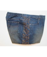Route 66 Women Jeans Plus Size 26W Inseam 30 Stitched Embroidery Button ... - $18.99