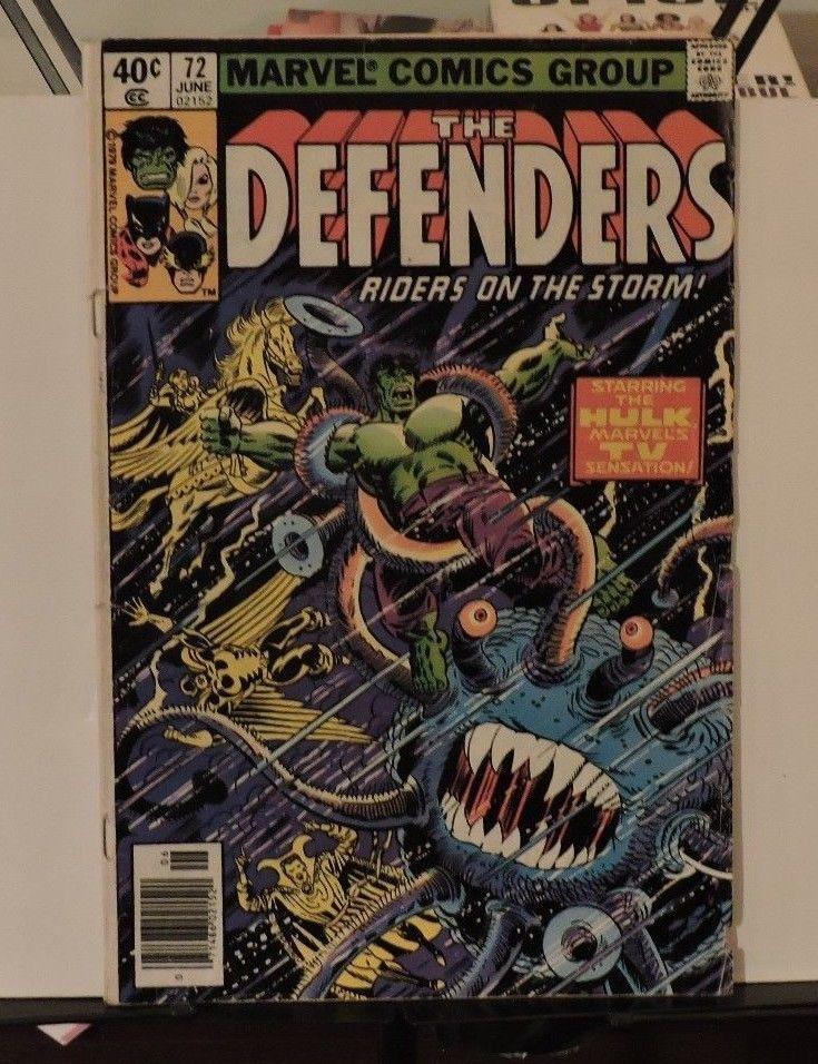 The Defenders #72 (Jun 1979, Marvel)