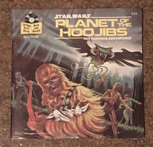 Vintage 1983 Star Wars Planet Of The Hoojibs 24 Page Read-Along Book and... - $50.00