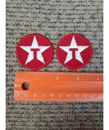 2x VTG Texaco Gas Station Fuel Advertising Sew on Patches NEW - $13.23