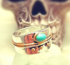*jinn ring*  witchcraft supplies~ coven owned vintage special SOLOMON  D... - $64.96