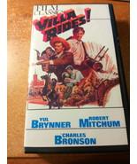 Villa Rides! Film starring Charles Bronson, Yul Brynner, and Robert Mitc... - $9.93