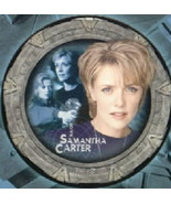 Stargate SG-1 Carter Collage Ltd. Edition Numbered Bone China Plate 2004... - $48.37