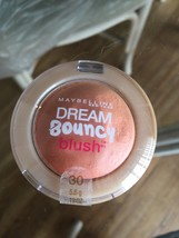 MAYBELLINE DREAM BOUNCY BLUSH 30 CANDY CORAL NEW - $4.46