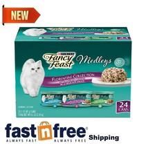 Purina Fancy Feast Gravy Wet Cat Food Variety Pack, Medleys Florentine ,... - $21.84