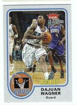 DAJUAN WAGNER 2002-03 Fleer Platinum Rookie Card #179 Cleveland Cavaliers /750 - $4.99