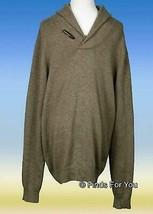 J Crew Factory Men's Toggle Shawl Collar Sweater Pullover  Xl 52968 Gray - $22.99