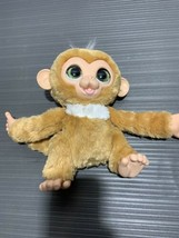 FurReal Friends Cuddles My Giggly Monkey Interactive Hasbro 2012 Talking Chimp - $6.07