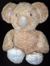 Koala Baby Bear Tan Blue Chime Rattle Plush Toy Lovey Stuffed Animal - $12.01