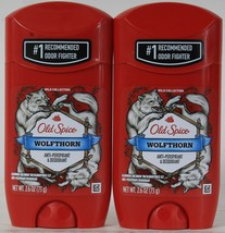 2 Count Old Spice 2.6 Oz Wolfthorn Odor Fighter Antiperspirant & Deodorant - $19.99