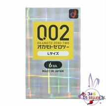 OKAMOTO Japan 0.02 L EX Polyurethane Gel Large Size 6pcs 002 Thin - US S... - $12.19