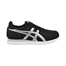 Asics Tiger Runner Womens Shoes Black-Silver 1192A126-001 - $64.95