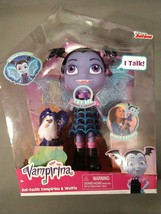 Vampirina Bat-Tastic Talking Vee & Friends Wolfie Disney Junior Light Up... - $33.81