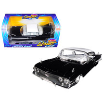 1960 Chevrolet Impala Black Lowrider Series Street Low 1/24 Diecast Model Car by - $32.11