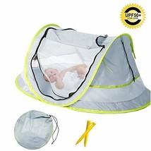 Carpa Para Bebé Mosquitero Portátil Parasol UPF 50 Ligera Nylon Respirable - $49.45
