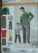Pattern For  Boys and Men's Shorts, Pants,Shirts and Dog Coat - Boys Sizes S,M,L - $7.00