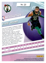 Kyrie Irving 2018-19 Panini Revolution Card #32 image 2