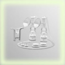 Ameda Dual HygieniKit Milk Collection System w/One Hand Breast Pump Adapter - $74.52