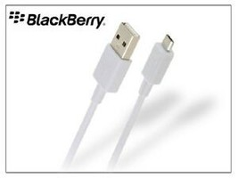 Brand New OEM Universal BlackBerry Grey Micro USB Charger Data and Sync ... - $12.73