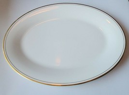 Royal Doulton Platter Gold Rim England Bone China  plate dinnerware nine... - $53.46