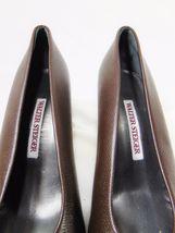 39 Classics Pumps Size Dark Women's Italy 5 Chunky Heel Brown STEIGER WALTER 0XCxwRC