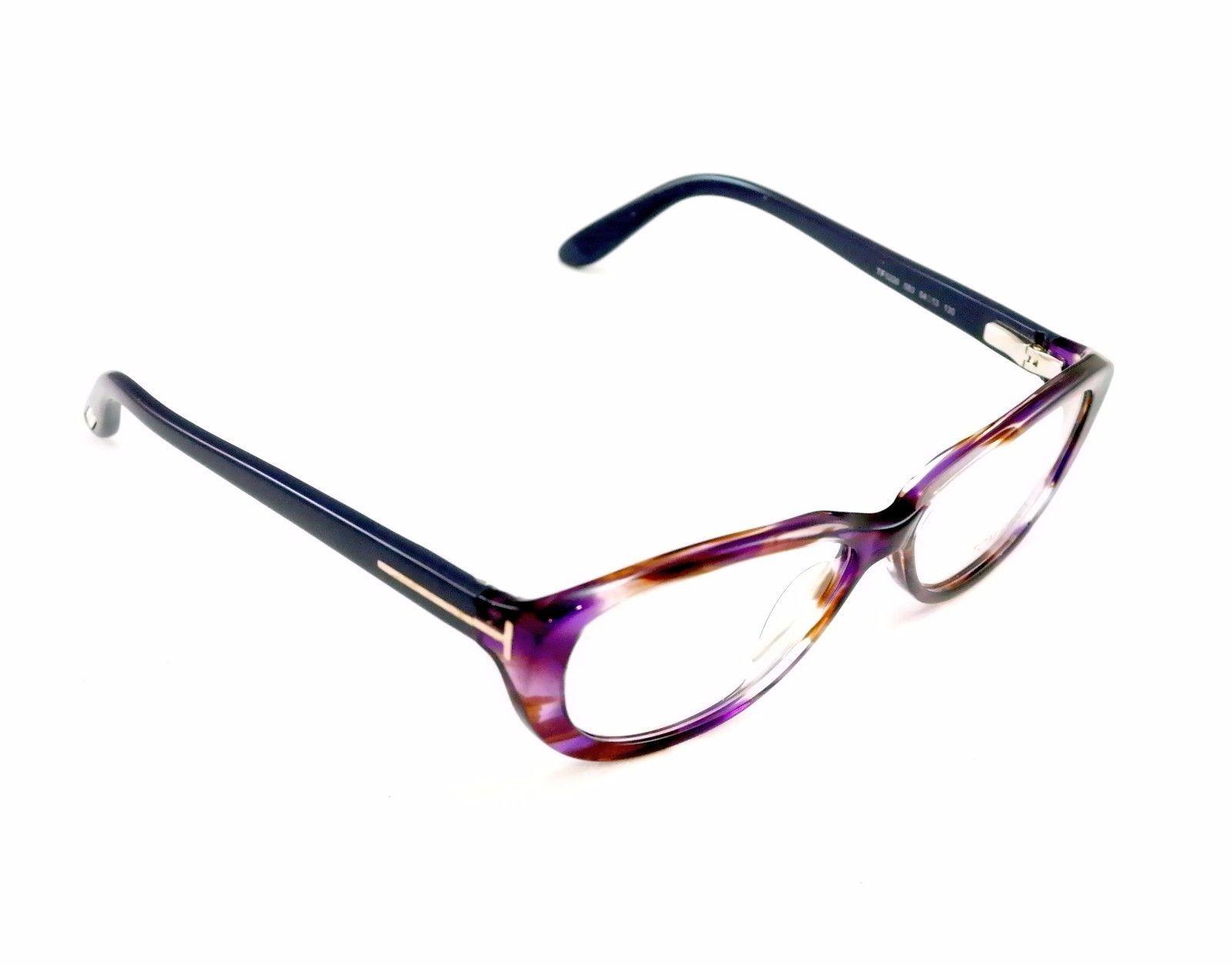 New Tom Ford Authentic Eyeglasses Frame TF5226 083 Purple Tortoise Acetate Italy