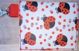 Clip on Ladybug Snap backback mask bag - $6.50